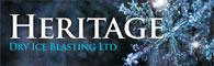 Heritage Dry Ice Blasting Logo